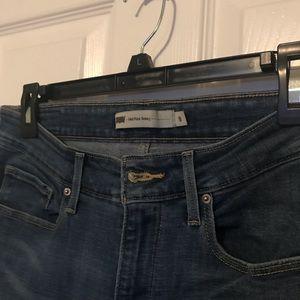 Levi Women's Mid Rise Skinny Jeans